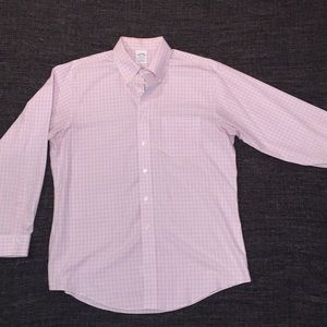 Brooks Brothers Slim-Fit (NWOT) No-Iron Button Up